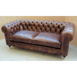 Deep Buttoned Chesterfield (Two Cushion)