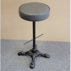 Cast Iron High Stool