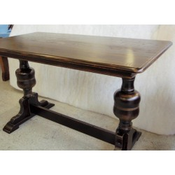 Twin Pedestal Bulbous Table Base