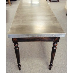Zinc Top Table