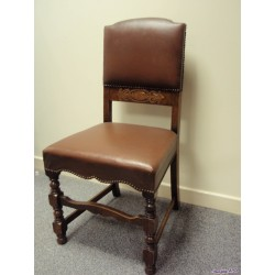 Original 1940's Pad Back Chair