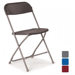 Folding Chair Plastic seat and back