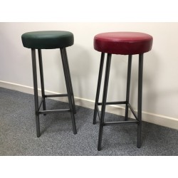 Metal Tube High Stools