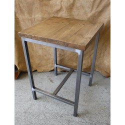 Metal Box Frame Table