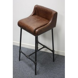 Gas Pipe High Stool