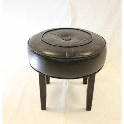 Retro Button Low Stool