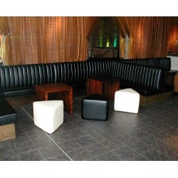 Traditional Fluted Back Seating