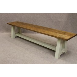 Vintage Style Wooden Bench