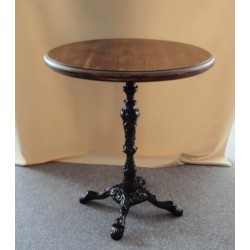 Ornate Cast Iron Table