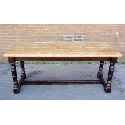 Rectory Plank Top Table