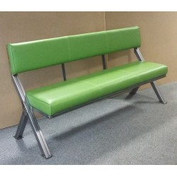 Industrial Cross Frame Bench