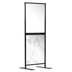 Covid Screen 750cm Marble