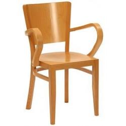 Oregan Veneer Seat Armchair
