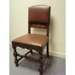 Original 1940's Pad Back Chair