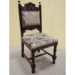 Reclaimed Ornate Back Chairs