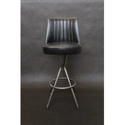Tube Swivel High Stool