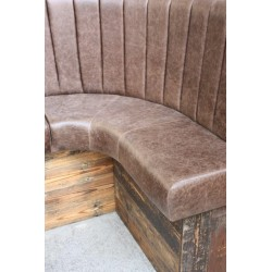 Reclaimed Timber Framed Seating