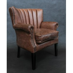 Pippa Fluted Back Arm Chair