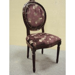 French Style Oval Back Chair