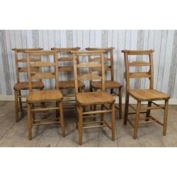 Oak School Chairs