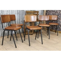 Tube Frame retro Style Dining Chair