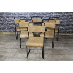 Retro Stacking Chairs