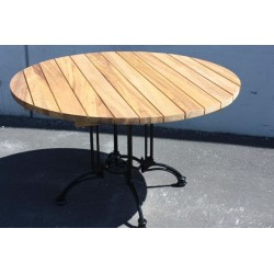 Large Alu Base Iroko Top