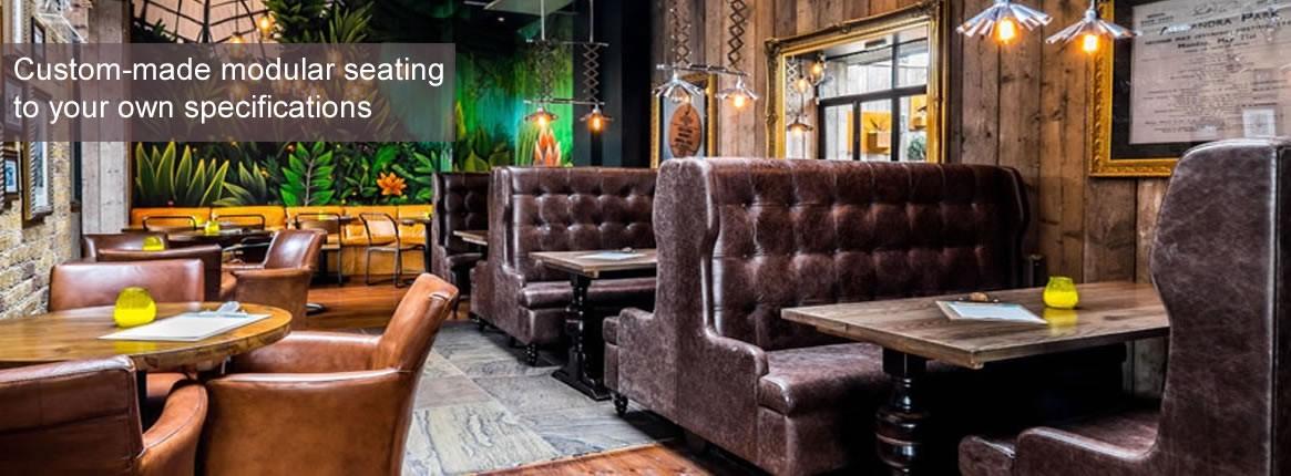 Banquette seating modular furniture
